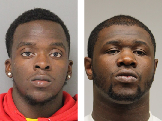 Traevon Dixon (left) and Jerry Reed originally faced first-degree murder charges in the 2018 shooting death of Isaac Hatton.