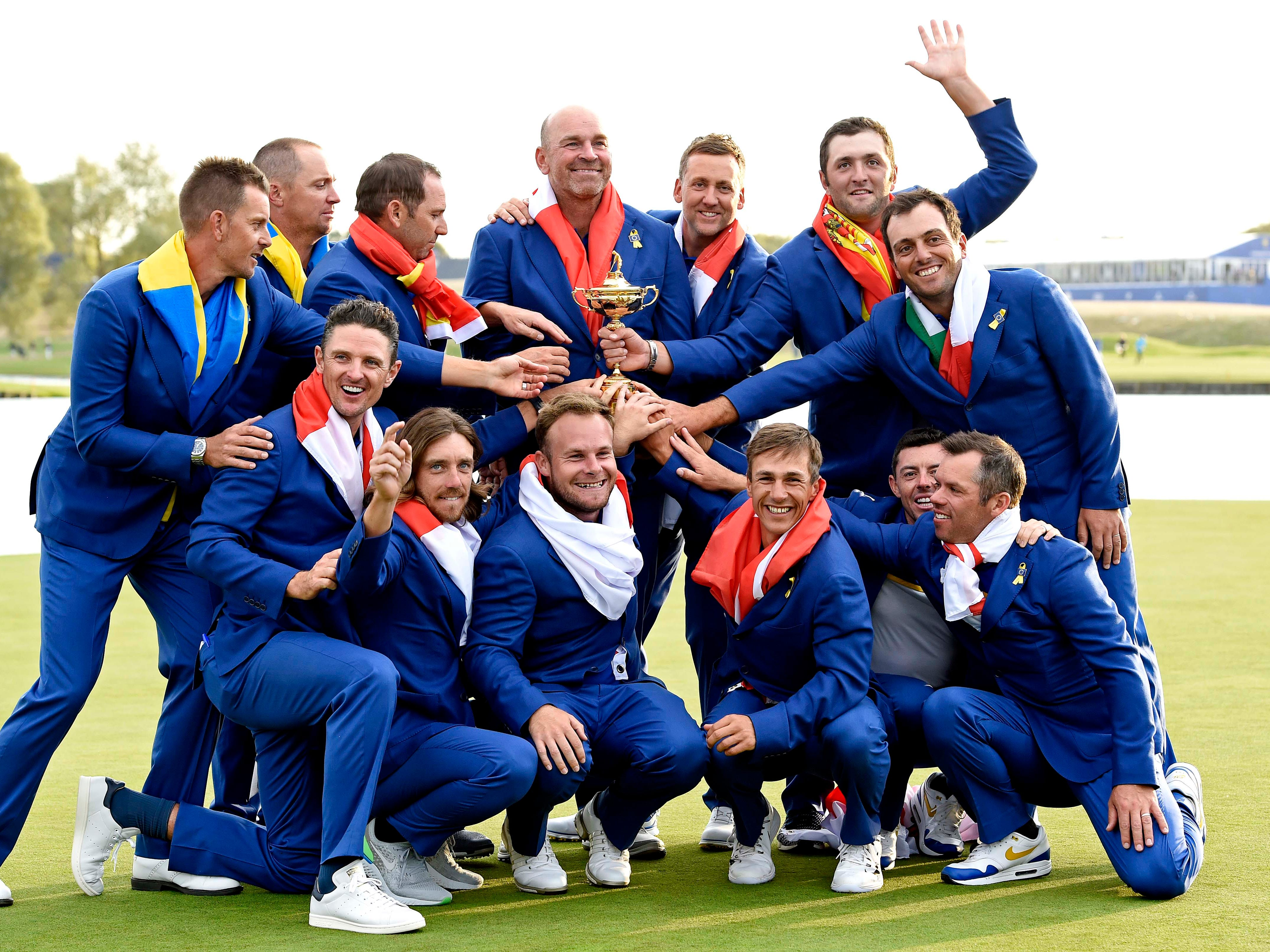 Europe reclaims the Ryder Cup.