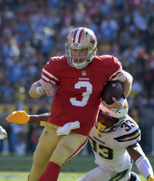 NFL  49ers seem headed for more close losses like Sunday vs. Chargers fb8e9da86