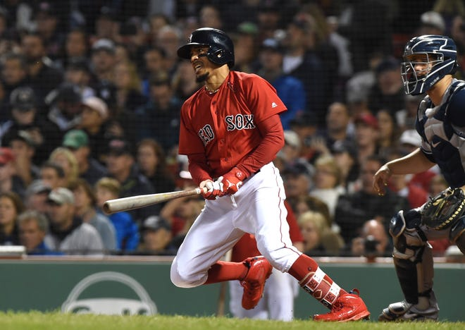 OF Mookie Betts, Red Sox