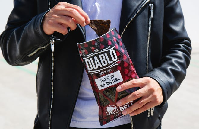 Taco Bell's hottest sauce packet is now available as a tortilla chip.