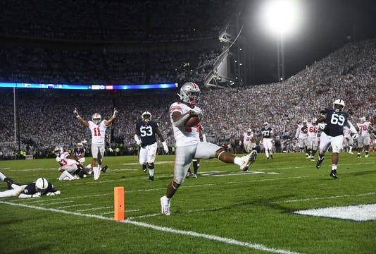 Ncaa Football Ohio State At Penn State