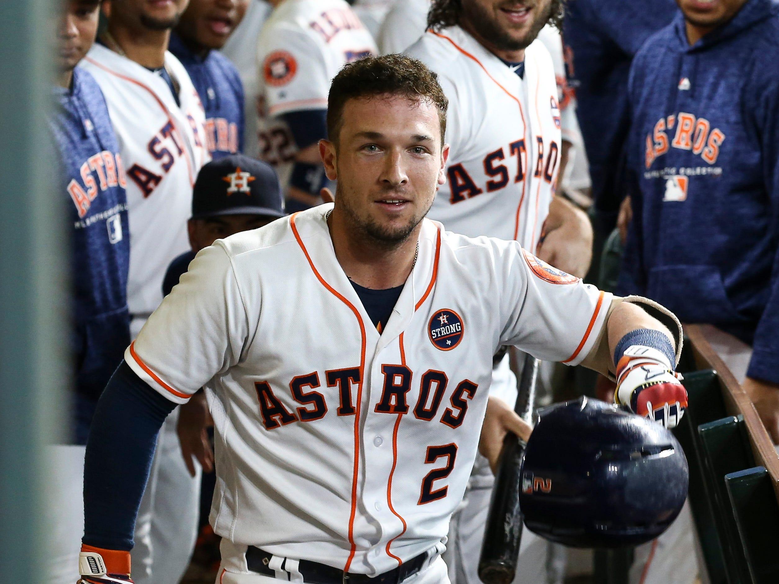 3B Alex Bregman, Astros