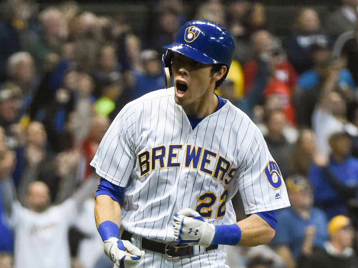 OF Christian Yelich, Brewers