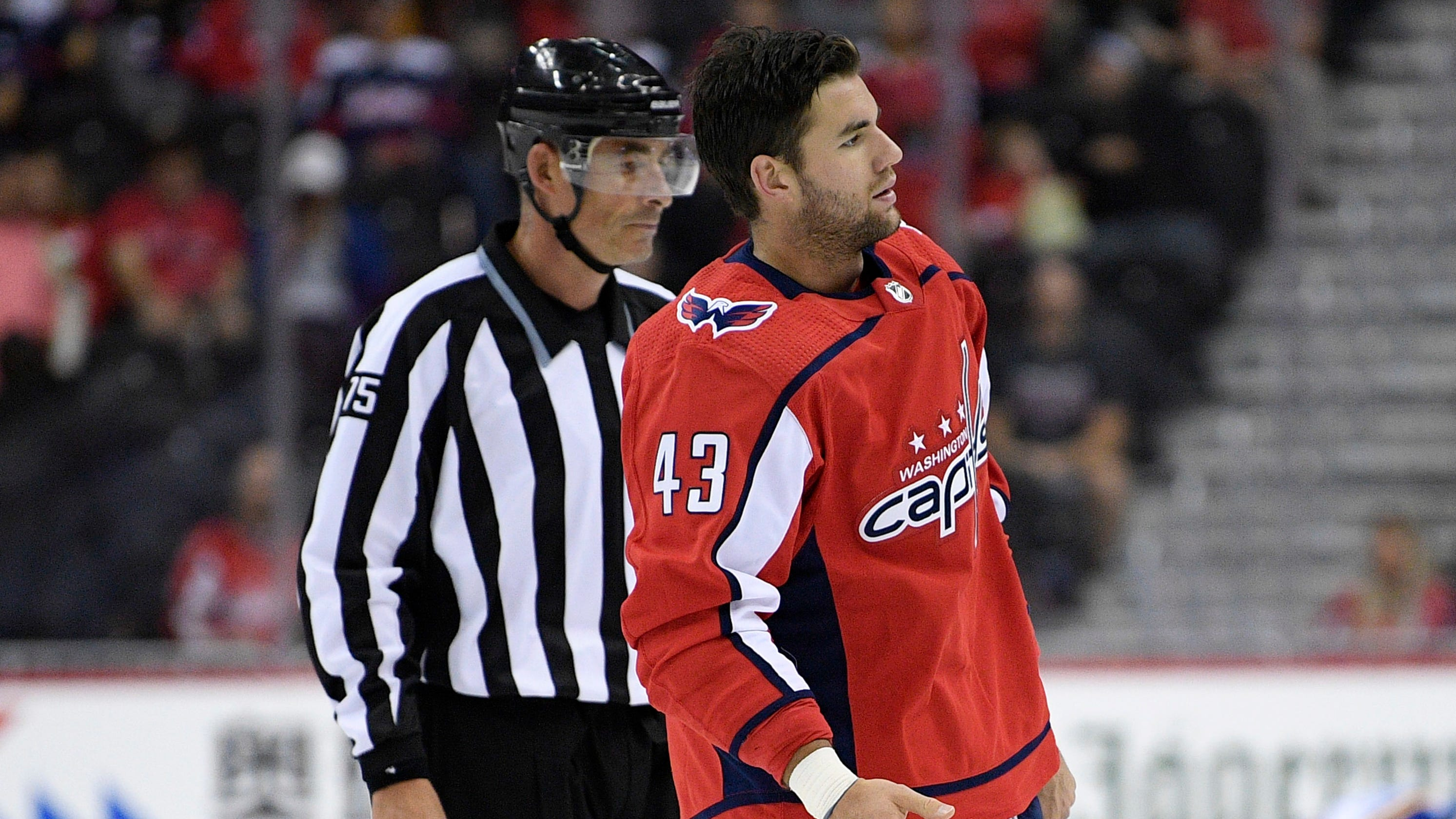 Washington Capitals  Tom Wilson suspended 20 games for hit to head 77a91f0e7
