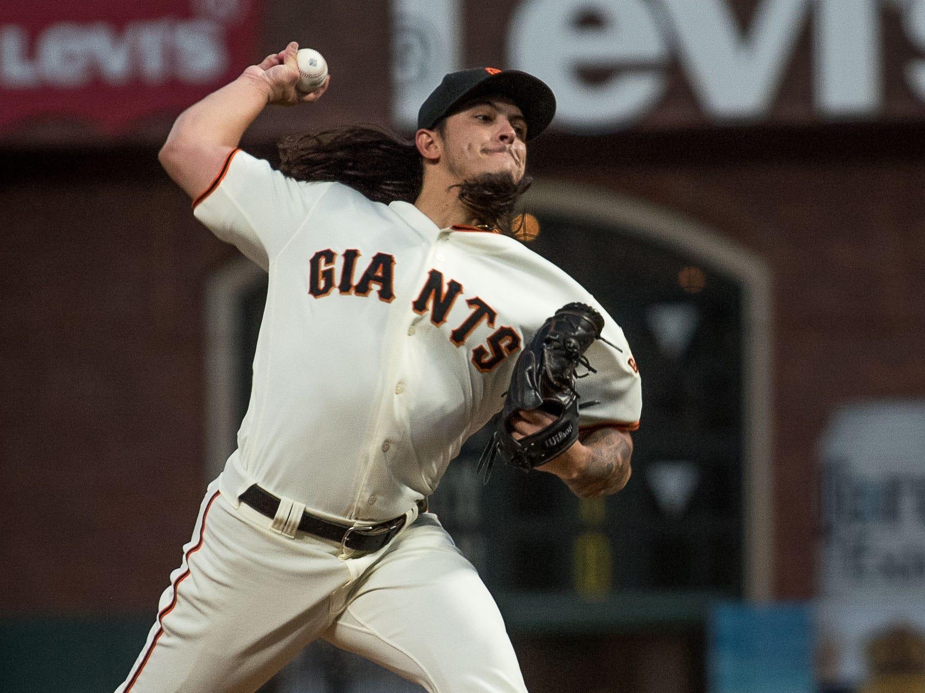 RHP Dereck Rodriguez, Giants