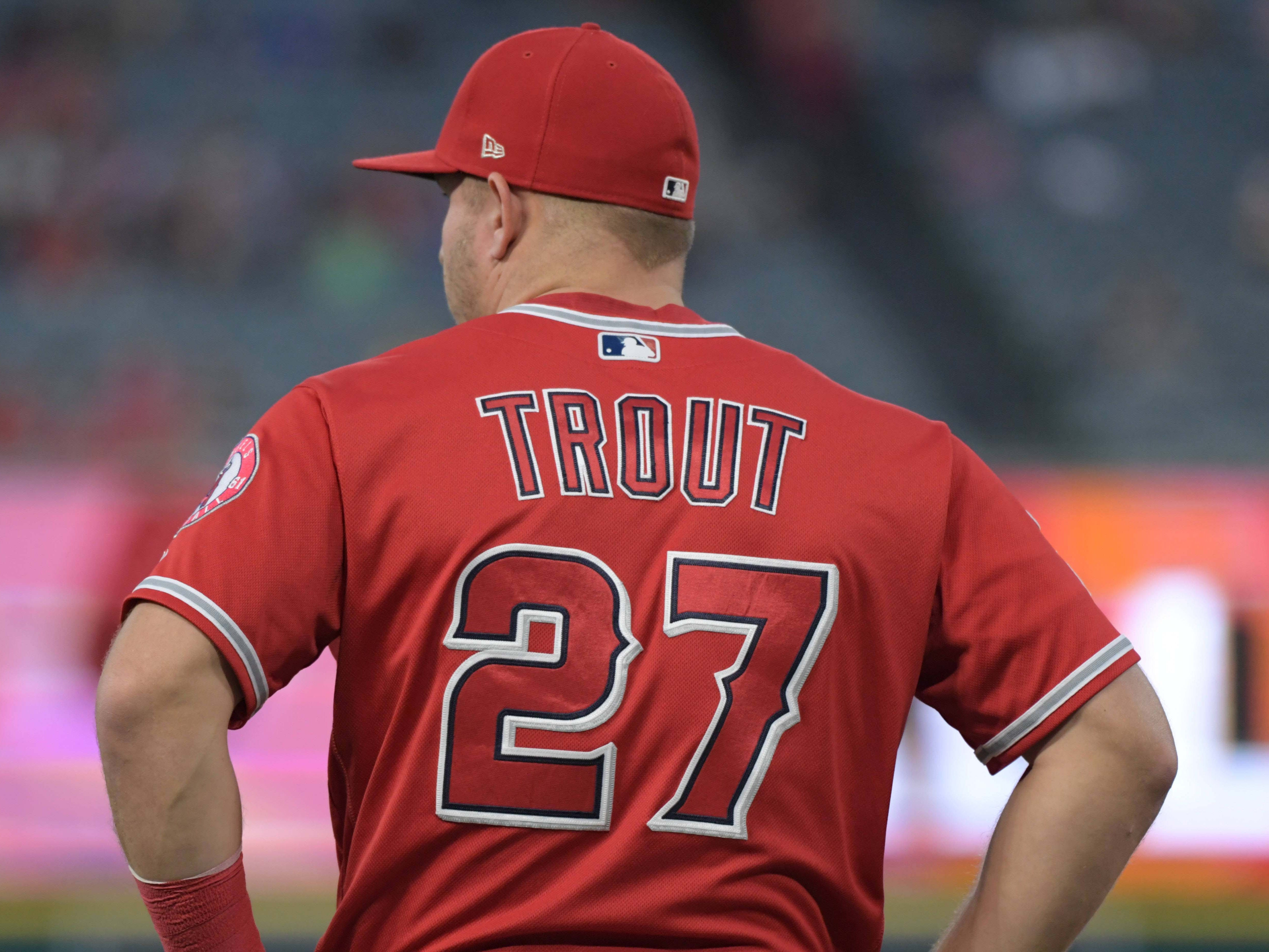 OF Mike Trout, Angels