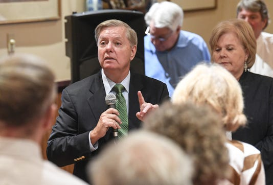 U S Sen Lindsey Graham 1st Monday Club Anderson