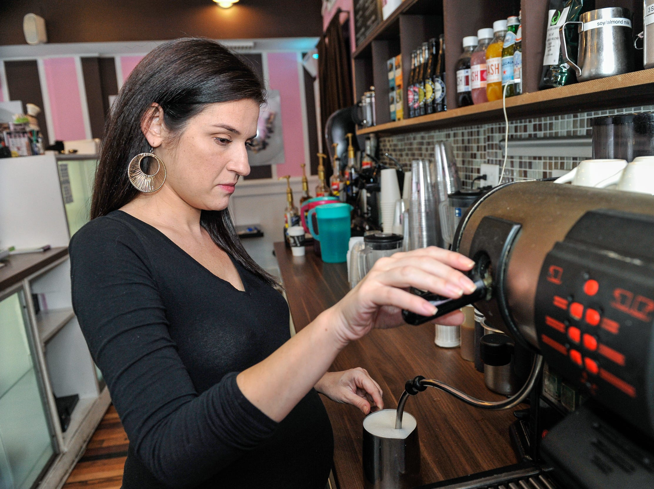 Erica Lieberman, pictured in a file photo, owns Whipped Creperie in Red Bank. The business is reopening a few doors down under the name The Crepe Place.