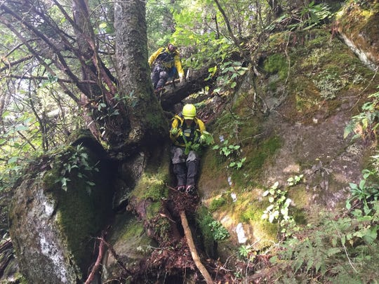 Professional search and rescue teams have hiked more than 500 miles in steep terrain searching for a hiker missing in Great Smoky Mountains National Park since Sept. 25.
