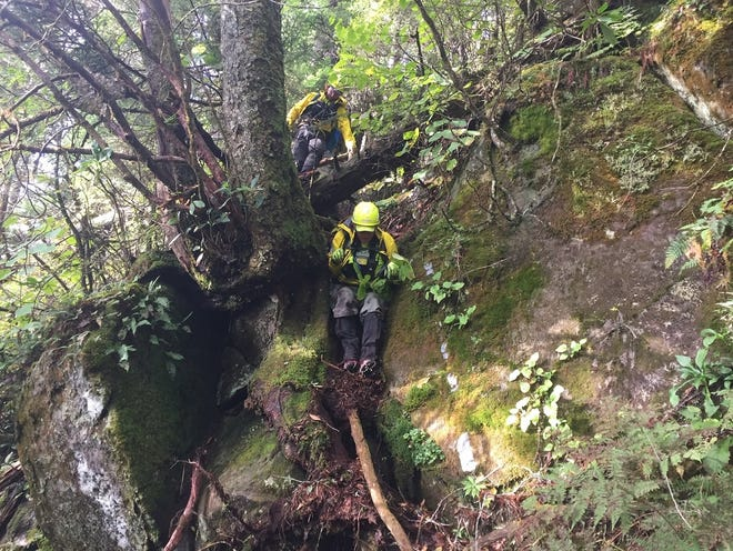 Professional search and rescue teams had hiked more than 500 miles in steep terrain searching for a hiker missing in Great Smoky Mountains National Park since Sept. 25.
