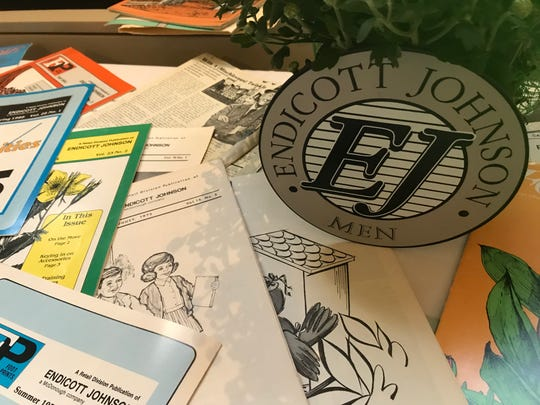 About 90 former E-J employees and family members gathered at the Sons of Italy in Endicott Sept. 29 to reminisce.