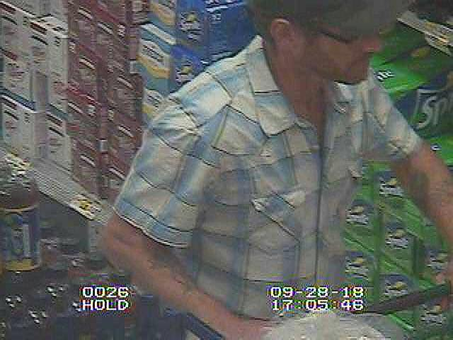 Berlin Township Police want help identifying a man who shoplifted more than $500 worth of merchandise from ShopRite.