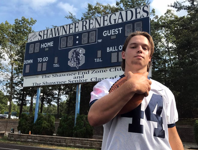 Shawnee quarterback Joe Dalsey is the South Jersey Gridiron Gang/Courier Post Player of the Week.