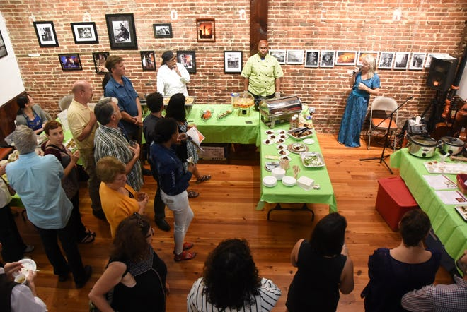 The Courier-Post will partner with the Farm & Fisherman Tavern in Cherry Hill and other community organizations to hold the #WasteNot for CFET event at the FireWorks Gallery in South Camden on Saturday, September 28. The event offers a special tasting, farm tours, live music and community conversation about reducing food waste.