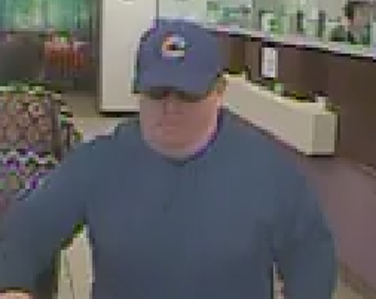 Image of Franklin Bank Robbery suspect