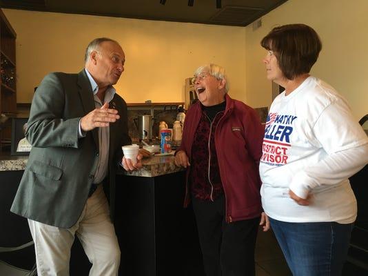 Steve King With Clark And Keller In Algona Iowa In Sept 29 2018