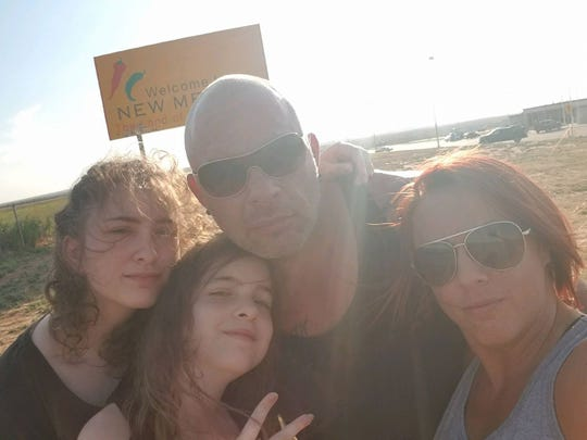 "Slavojub ""Steve"" and Jasmina Radosavac with their daughters, Mia, and Anja."
