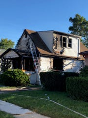 A couple died and one of their daughters was critically hurt in a fire at their Eastpointe home Sept. 29, 2018.