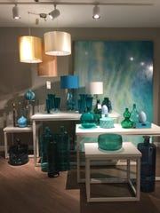 "Art Van's new Home department will include vases, lamps, rugs, window treatments, even tableware that customers can ""take with,"" meaning buy and go, says Chief Marketing Officer Gail Galea."