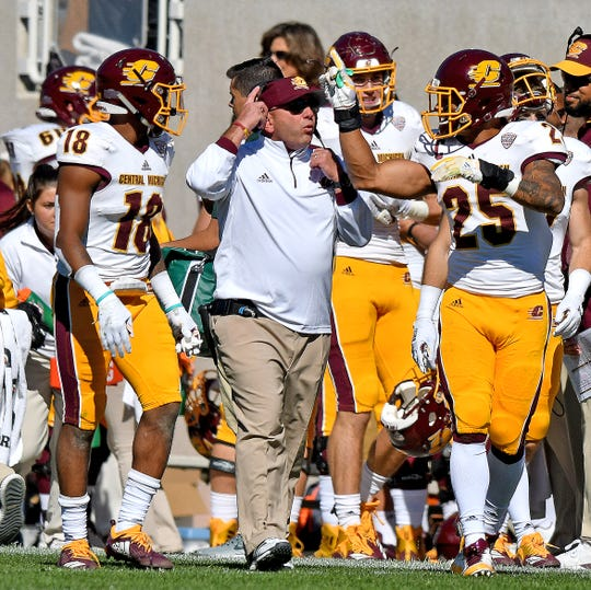 John Bonamego's Central Michigan defense ranks sixth nationally against the pass.
