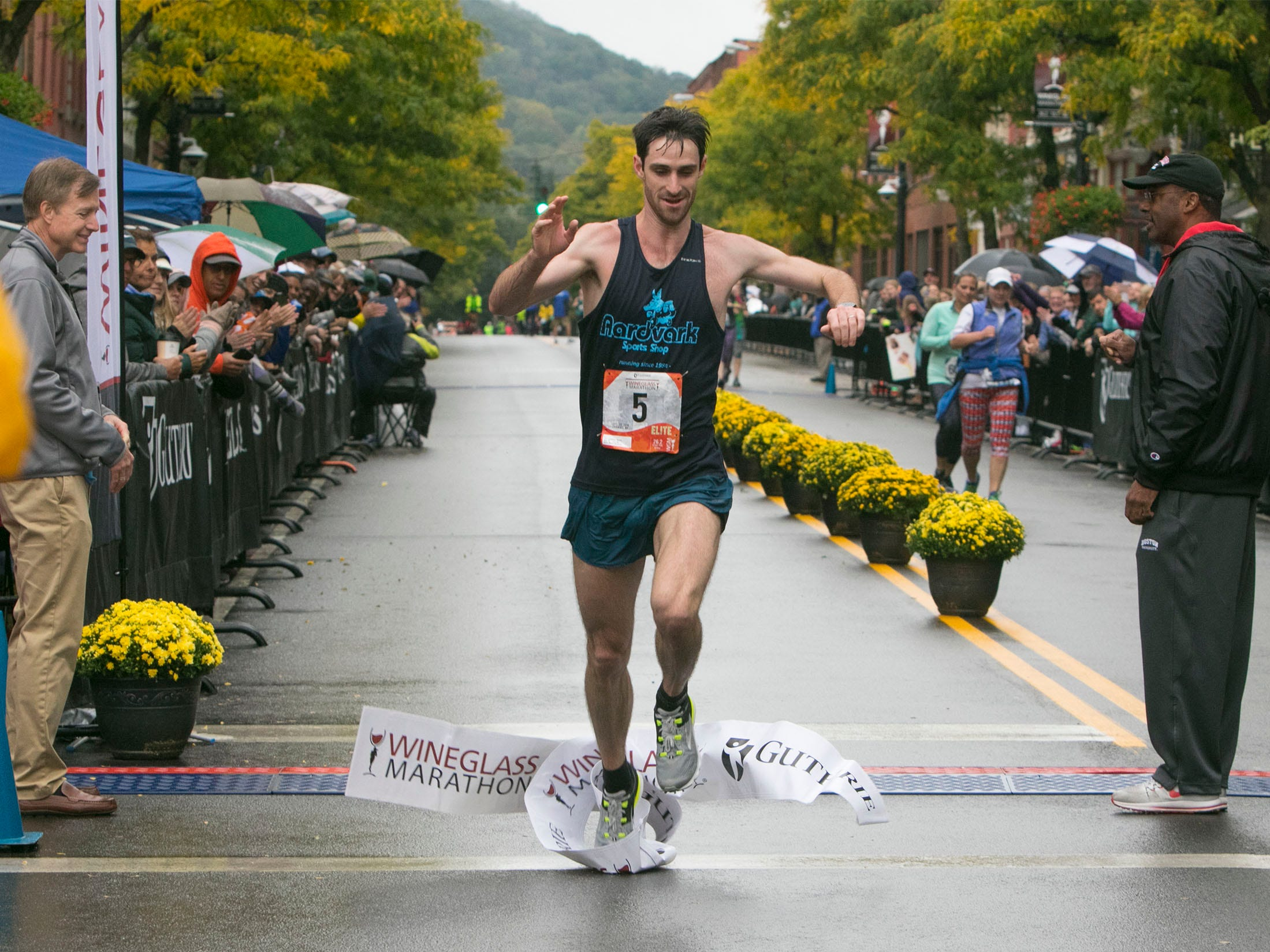 The 37th annual Wineglass Marathon was held Sept 28-30, 2018.