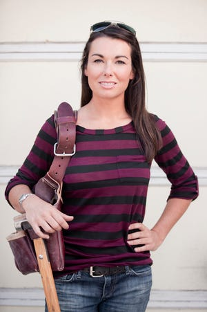 Kayleen McCabe of the DIY Network will be at Vanguard-Sentinel Career Center on Oct. 14.