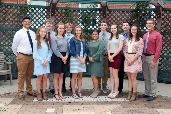 The 2018 St. Joseph Central Catholic  Homecoming Court has been named. In the Front row are Laura Schnell, Sarah Molyet, Tristan Reineck, Sophia Mancha, Maddie Holland, and Carmen Ysasi.  In back are Alejandro Galvan Jr., Noah Hausman, Grant Stepanic, Alex Eberly, Isaac Jiminez, and Dalton Ewing.