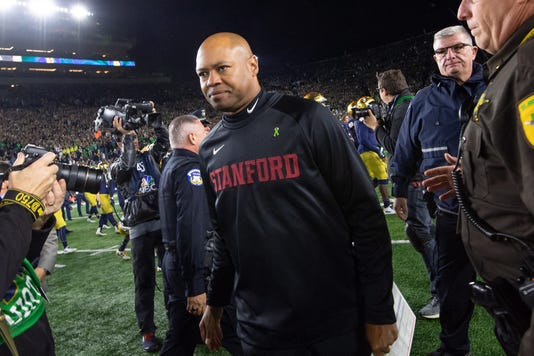 Ncaa Football Stanford At Notre Dame