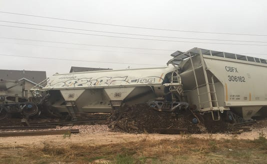 Windsor train derailment