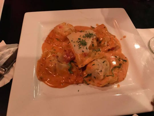 Cibo's house-made ravioli may be filled with a variety of ingredients, depending on the chef's mood.