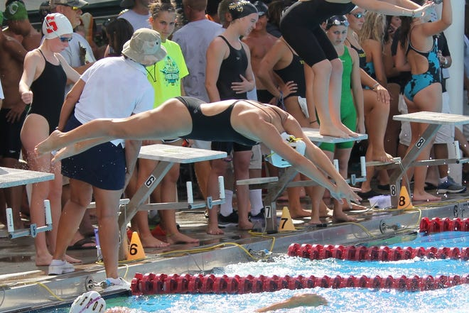 Bishop Verot senior swimmer Hannah VanDress is a two-time state medalist and aims to finish her senior year strong by adding to her medal count.
