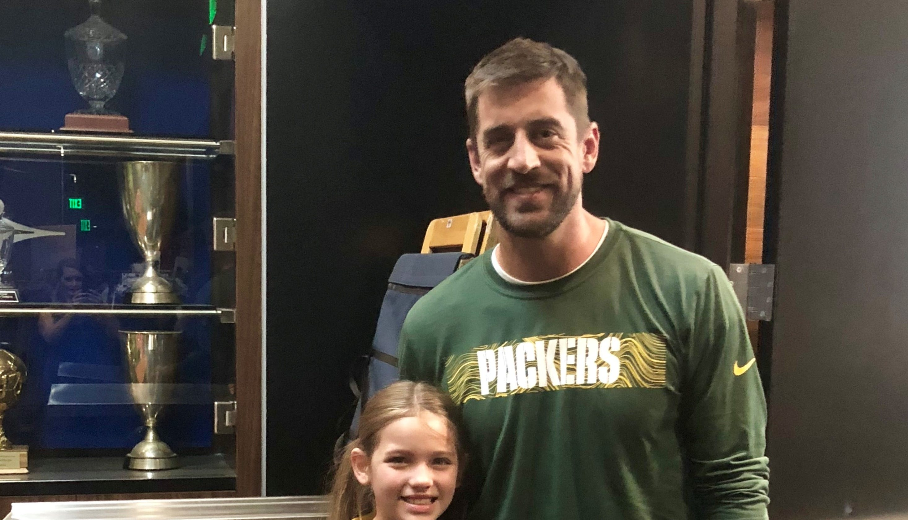 sale retailer 40414 abe42 Aaron Rodgers' Bose ad: 9-year-old co-star is now a Packers fan