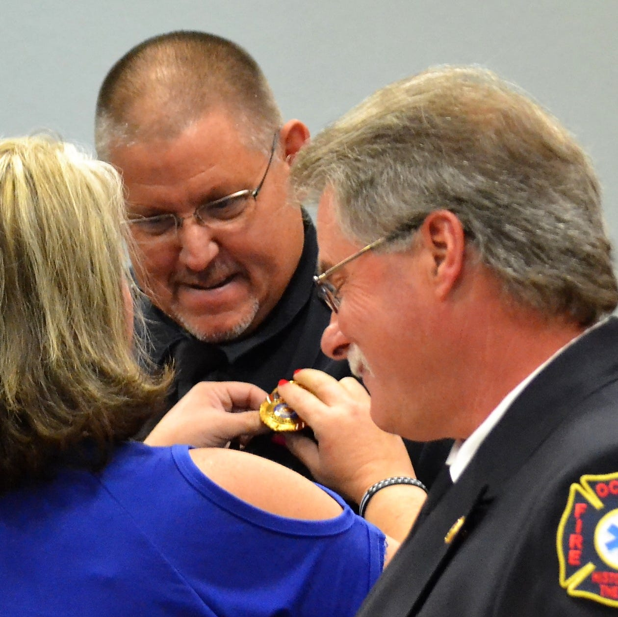 Pinning ceremony a final welcome for new Oconto Police chief