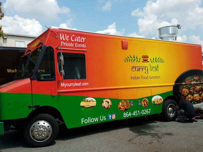 Curry Leaf is the newest food truck to hit Greenville streets.