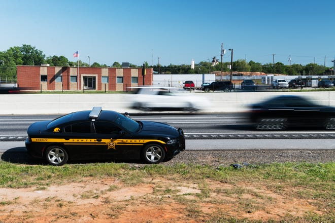 Patrol cars saturate the interstates running through Spartanburg and Cherokee counties May 1, 2018, during Rolling Thunder. Nearly everyone does something illegal if you follow them long enough, a deputy explains.