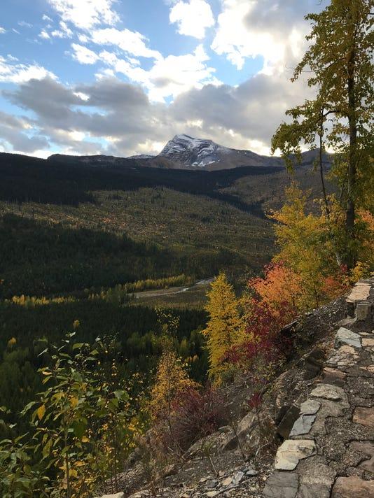 autumn in Glacier National Park