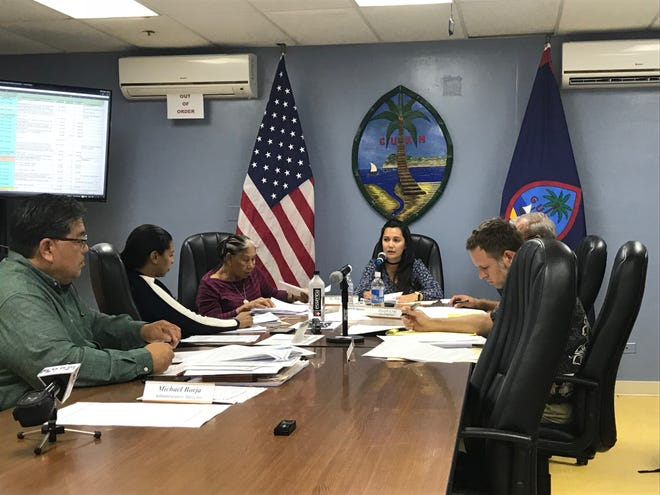 The Chamorro Land Trust Commission meets on Sept. 20 in this file photo.