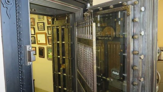 Sen. Billy Hudson's office is in an old vault at the Capitol in Jackson
