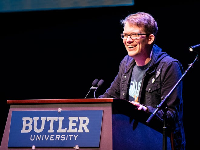 Author Hank Green speaks Sunday at Clowes Hall.