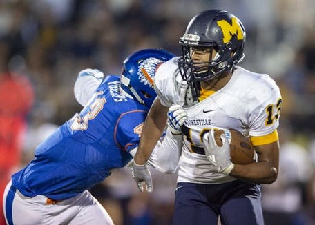 Mooresville is No. 9 on my Class 4A ballot. Brayden Evans and the Pioneers defeated Whiteland 21-17 on Friday.