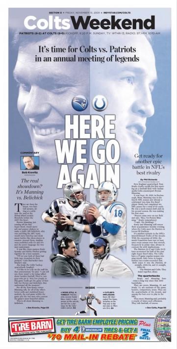 Colts Front Nov 13 2009
