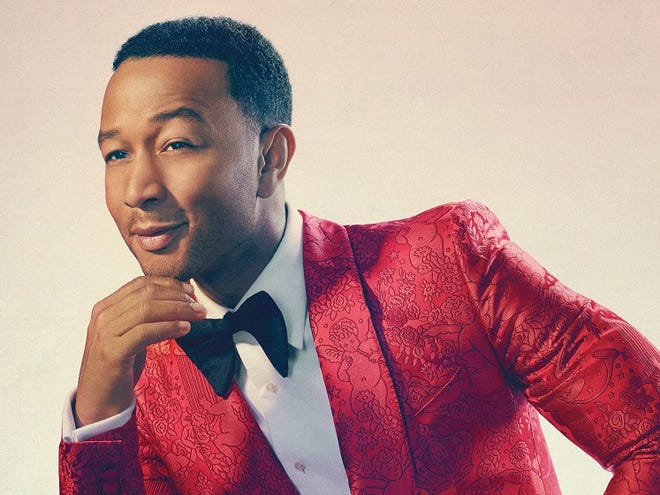 "John Legend brought his ""A Legendary Christmas"" tour to Old National Centre."