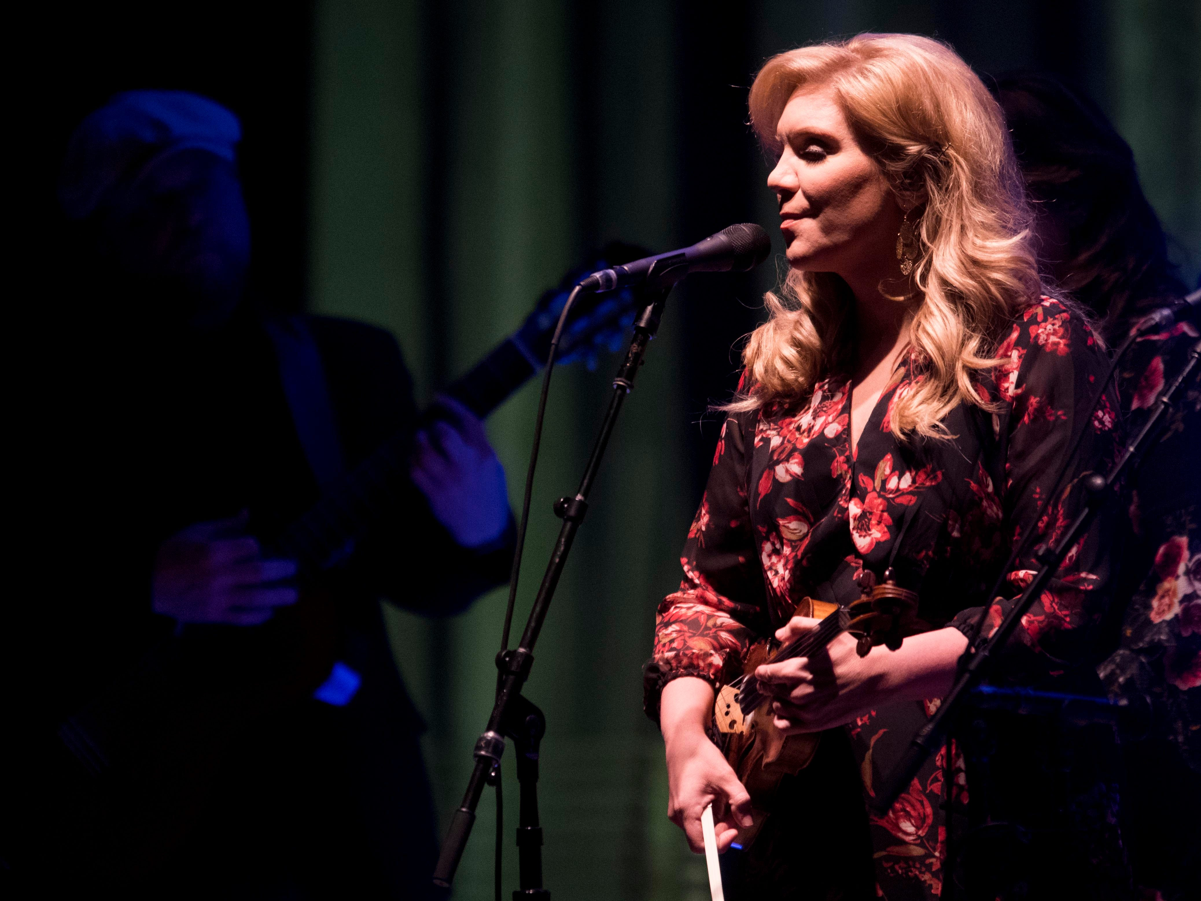 Alison Krauss performs at the Tennessee Theatre on Sunday, September 30, 2018 as part of the Theatre's 90-year Gala.