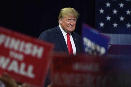"President Donald J. Trump's ""Make America Great Again"" Rally for Marsha Blackburn Monday, Oct. 1, 2018 in Johnson City."