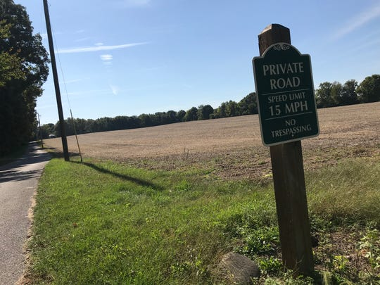 Charles Vaughan Sr., a trustee for land in the estate of Opal Hatke, has filed to rezone the 39 acres along Swisher Road near Battle Ground for residential use.