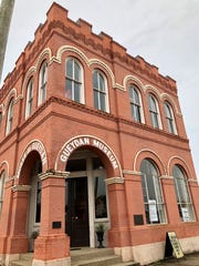 The Gueydan Museum is inside a former bank downtown. It is free and open to the public.