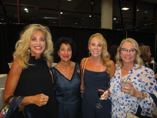 Marianne Lane, Cecile Mouton, Ann Kergan and April Leleux