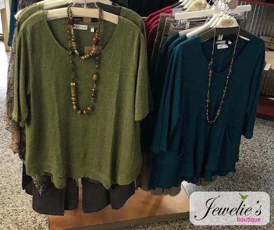 Jewelie's Boutique offers contemporary, comfortable, and fashionable pieces at a great price!
