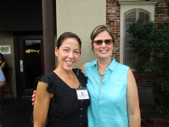 Jeanine Foucher and Christie Dunn